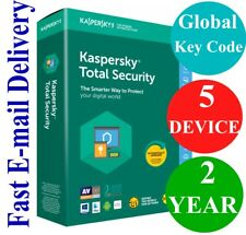 Kaspersky Total Security 5 Device / 2 Year (Unique Global Key Code) 2020