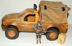 1:18 Lanard Field Transport Unit Truck for BBI Elite Unimax Ultimate Soldier