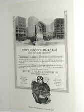 1920 ROCK Of AGES advertisement, WWI Soldiers Memorial Granite monument