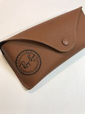 Ray-Ban sunglasses case brown