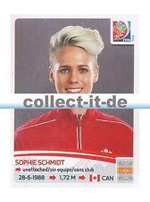 Panini Frauen WM World Cup 2015  - Sticker 35 - Sophie Schmidt
