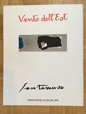 Giuseppe SANTOMASO litografia 1979 Erker stampa ex. 42/100 63x50cm firmato