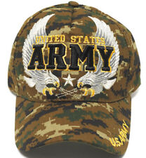 ARMY VETERAN Cap/Hat w/ Flying Eagles 100% Cotton *Free shipping*
