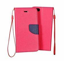 % Für HTC A9S FANCY Handy Tasche Cover Hülle Book Case Etui PINK