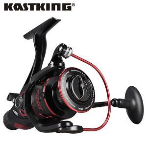 KastKing Sharky Baitfeeder III 6000 5.5:1 11bb Spinning Reel for Live Liner Reel
