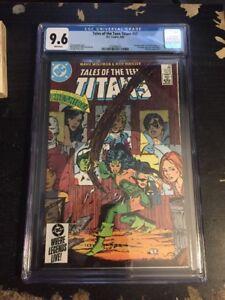 Tales Of Teen Titans#52 Incredible Condition CGC 9.6(1985) 1st Azrael App(cameo)