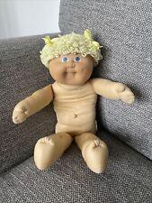 Cabbage Patch Kids Doll Jesmar Spain Black Signature 1984 TLC Doll HM3 Lemon