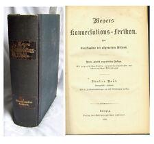 Meyers Konversations- Lexikon 1886 4. Auflage Band 5