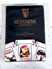 Guinness Poster Deck 12 Calssic Guinness Images Deck of Cards Unused