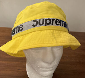 SUPREME REFLECTIVE ZIP CRUSHER YELLOW SIZE M/L SS21 WEEK 12 (IN HAND) NEW