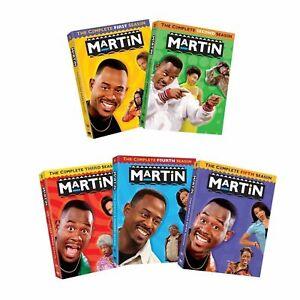 MARTIN : Martin Lawrence: Complete TV Series Seasons 1-5  DVD Set, 20 Discs Set