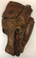 Hutch Leather Baseball Glove Mitt Richie Ashburn HOF Philadelphia Phillies 1950s