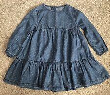 Girls Denim Dress 3-4 Years
