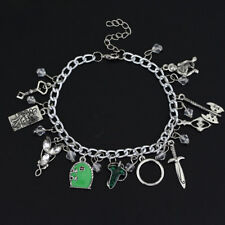 The Lord of the Rings Charm Bracelets Crystal Elven Leaf Arwen Evenstar Locket