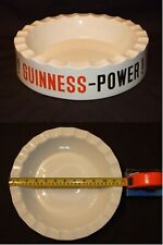 """Extra Large 12"""" Vintage Guinness-Power Cigar Ashtray By HCW of Mitcham, England"""