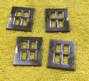4 silver standard gauge Lionel 517 windows