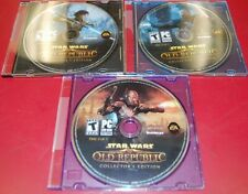 Star Wars The Old Republic Collector's Edition (PC, 2011) DISCS ONLY! FREE SHIP!