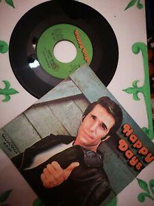 Disco Vinile 45 giri Happy Days - vintage nuovo