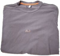 ARMANI JEANS Boys T-Shirt Top 15-16 Years Large Grey Cotton  CD01