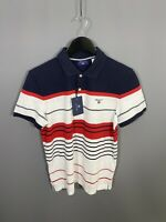 GANT Polo Shirt - Size Small - Striped - New With Tags - Men's