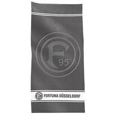 Fortuna Düsseldorf Baumwolle Frottee Duschtuch 70x140cm 1Teilig Logo grau