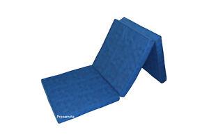 Klappmatratze Gästebett Faltmatratze Notbett Farbe blau