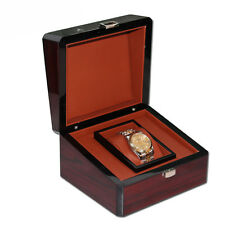 watch gift box classical mens women luxury wood watch boxes storage display case