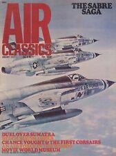 Air Classics - January 1972 (F-86 Saga, Beech AT-11, Vought O3U, AH-1 Cobra)