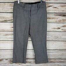 Maurices Women's Capri Pants Size 7 8 Juniors Black White Cropped Career