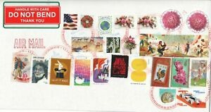 UNITED STATES 2020 GLOBEL FOREVER CHRYSANTHEMUM & ETC 24 STAMPS FINE USED LOT 02