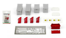 Brumm F093 Pit Garage Diorama Accessory Set - 1/43 Scale