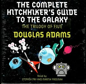 The Complete Hitchhiker's Guide to the Galaxy The Trilogy of Five CD NEW/Sealed!