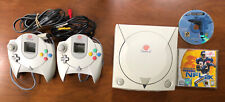 Sega Dreamcast Console With 2 Controllers And 2 Games - Tested And Working