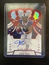 2020 Crown Royal Draft Picks Red Jalen Reagor Rookie Auto 6/20