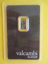 1g Platinbarren Valcambi, SUISSE, Feingehalt 999,5/1000, TOP-Zustand !!!