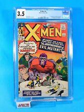 The X-Men #4 Marvel Comics 1964 CGC Universal Grade 3.5 Brotherhood of Mutants