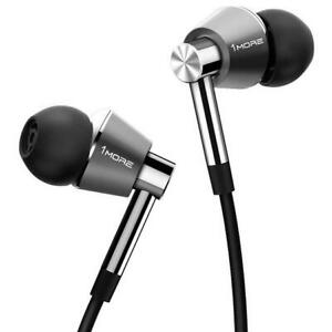 1MORE TripIe Driver Wired In-Ear Headphones Silver E1001 FREE SHIPPING