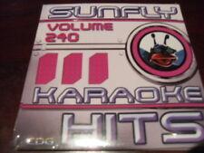 SUNFLY HITS KARAOKE  DISC SF240 VOLUME 240 CD+G SEALED 15 TRACKS