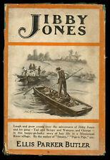 Ellis Parker Butler / Jibby Jones Story of Mississippi River Adventure for Boys