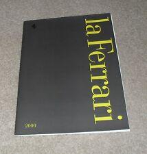 Ferrari Brochure 2000 La Ferrari - 360 Spider 550 Maranello 456M