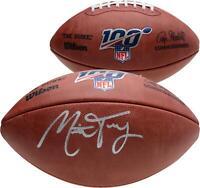 Mitchell Trubisky Chicago Bears Signed Duke NFL 100 Pro Football - Fanatics