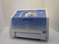 Ventilation Maximum 10CM-BL Wall Exhaust Trap, 8 X 18.5 Cm, Steel, White NIB