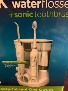 Waterpik Sonic Toothbrush and waterflosser Combo Pack Brush & Floss NEW