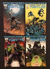 TEENAGE MUTANT NINJA TURTLES MUTANIMALS #1 - 4 Comic Books FULL SERIES TMNT IDW