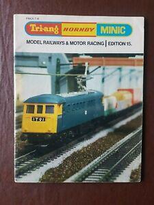 Tri-ang/Hornby/Minic railways catalogue 15th edition 1969.