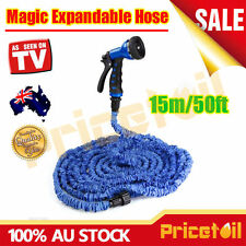 15m/50FT Pocket Self Expanse Expandable Flexable Stretch Magic Water Garden Hose