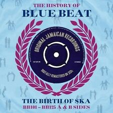 THE HISTORY OF BLUE BEAT-THE BIRTH OF SKA BB101-BB125 A&B SIDES NEW SEALED 3CD