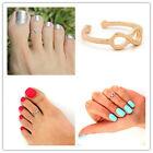Women Toe Ring Celebrity Love & Infinity Open Adjustable Foot Beach Jewelry
