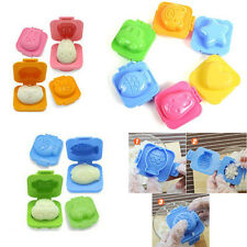 6Pcs Boiled Egg Sushi Rice Mold Bento Maker Sandwich Cutter Mould 83*75*50cm