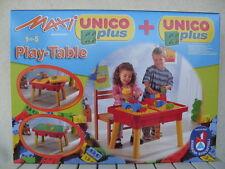 tavolo gioco tavolino play table costruzioni building bricks mesa toy unico 8805